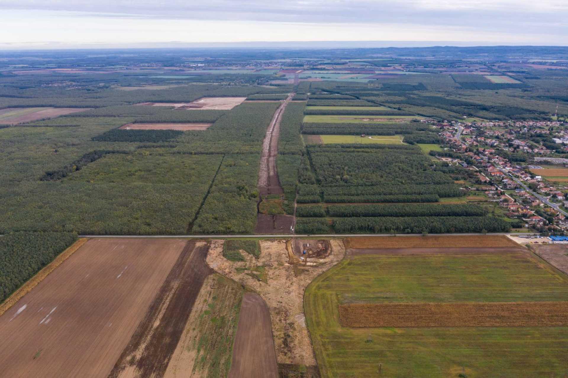 Épül a Pápa-Győr gyorsforgalmi út