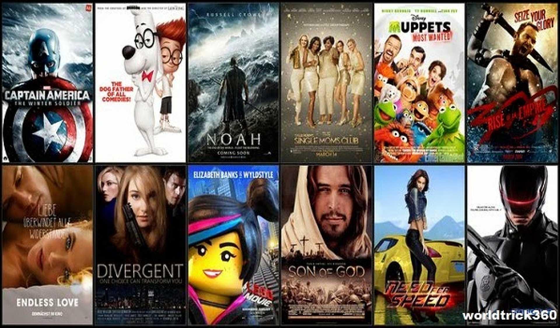 Készíts listát kedvenc filmjeidből.