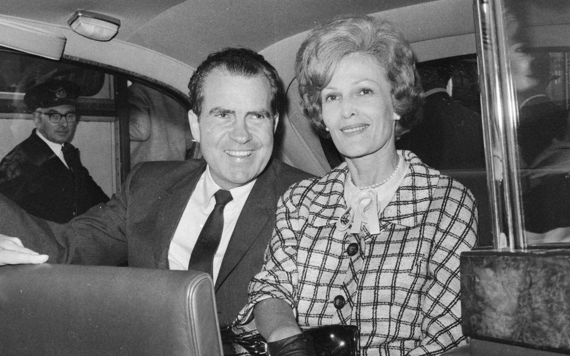 Richard és Pat Nixon