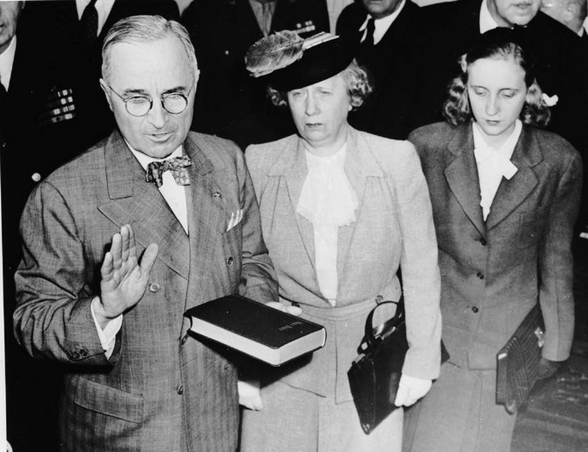 Harry, Bess és Margaret Truman