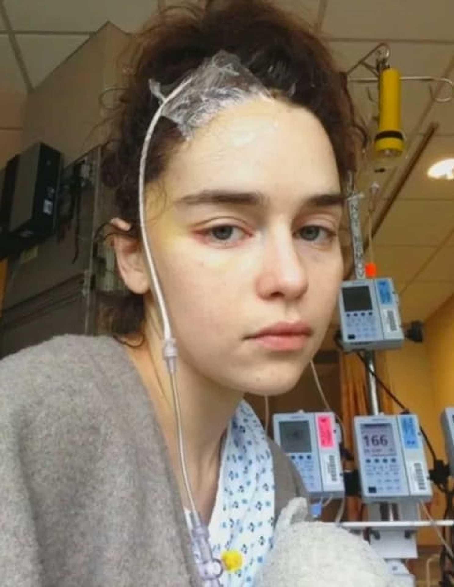 Első agyműtétje után 2011-ben