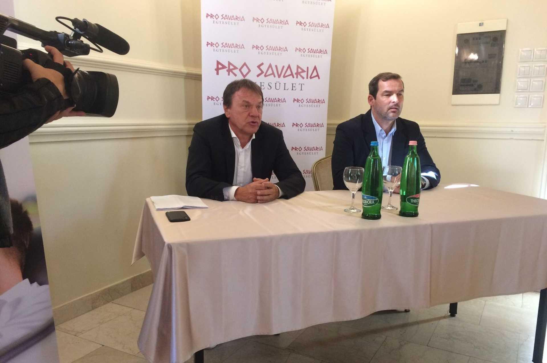 Pro Savaria sajtótájékoztató