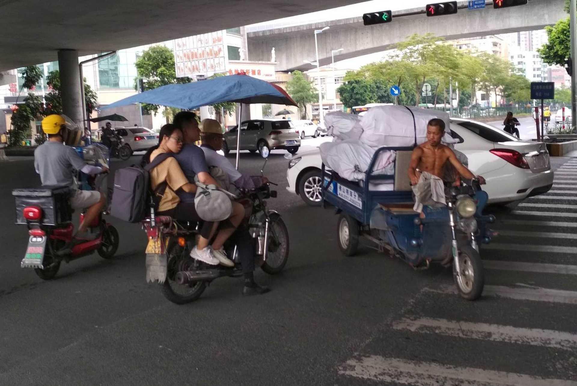 Kína, Kanton (Guangzhou)- közlekedés