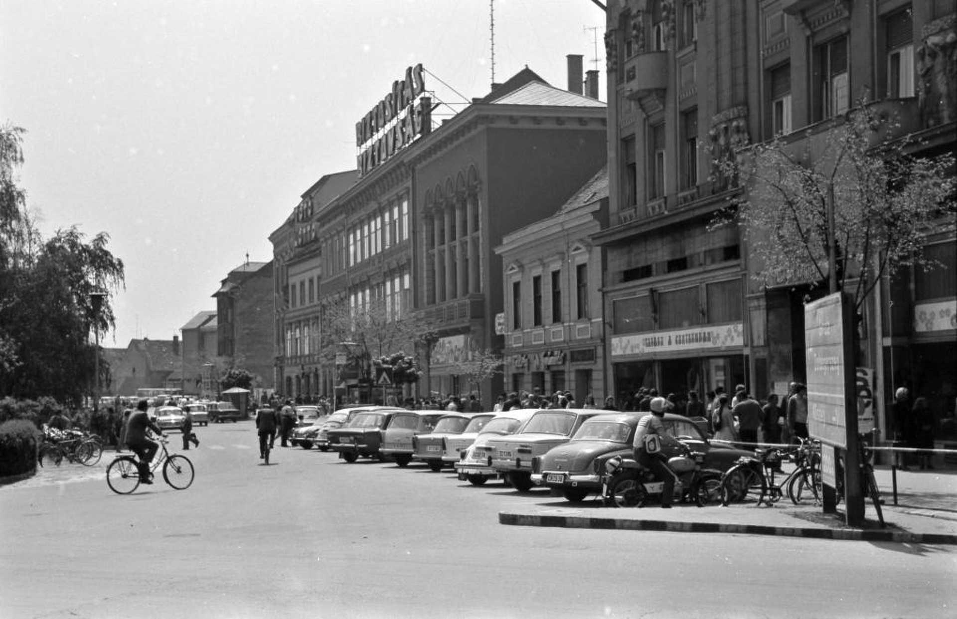 Szombathely, Fő tér (1979)