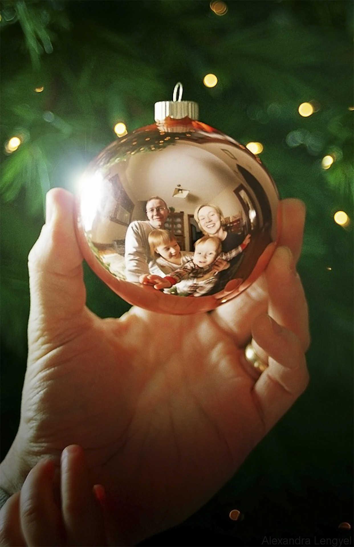 ideas creativas de fotos de tarjetas de navidad