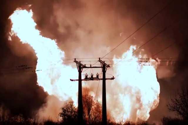 Gázrobbanás Püspökladány mellett