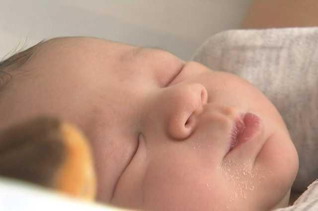 Kende, az első 2020-as burgenlandi baba