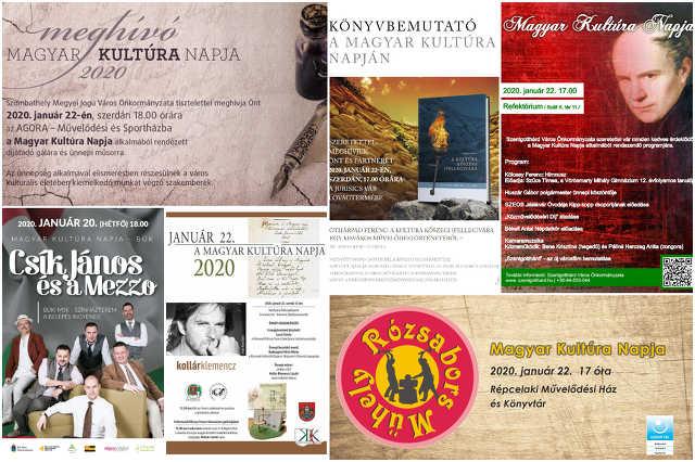 A magyar kultúra napja Vas megye 2020