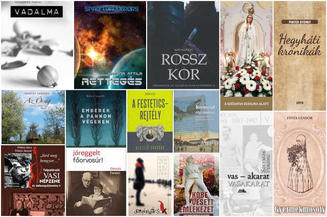 Vasi írók 2019-es könyvei No.II.