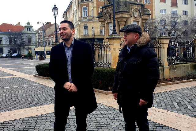 Németh Ákos és Kendernay János sajtótájékoztatója