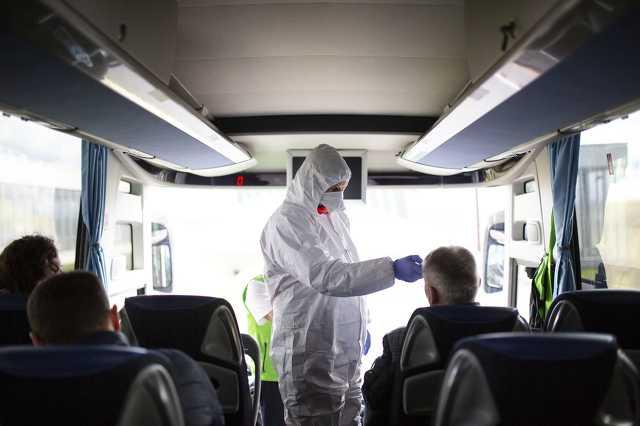 Koronavírus - Ellenőrzés a letenyei határátkelőnél
