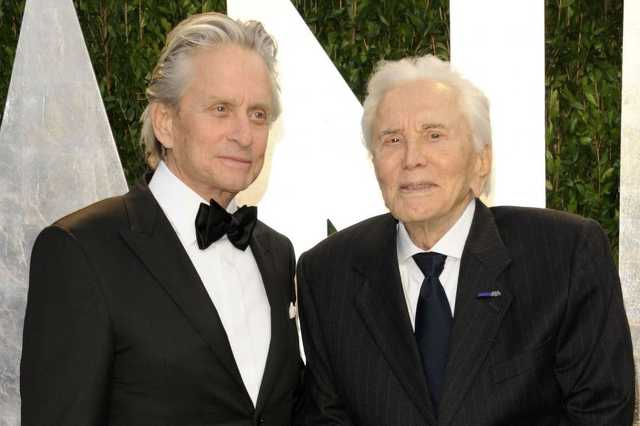 Kirk és Michael Douglas