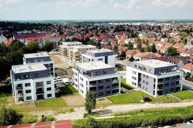 Új épületek Szombathelyen