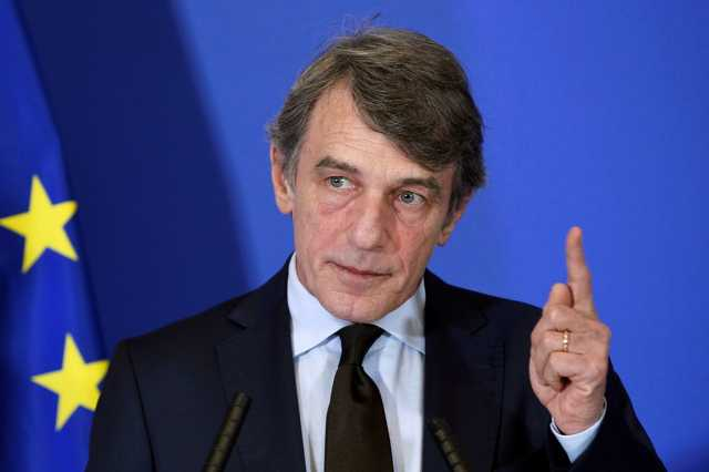 David Sassoli az EP elnöke