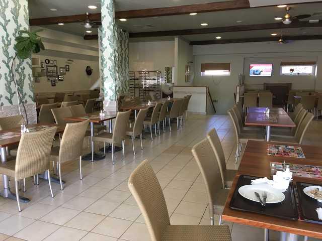 Üres étterem