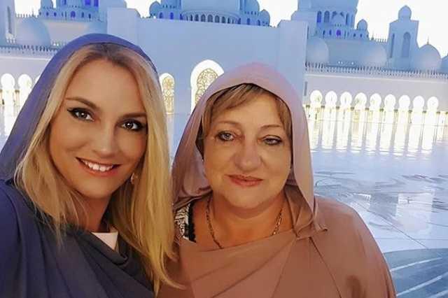 Som-Balogh Edina és édesanyja