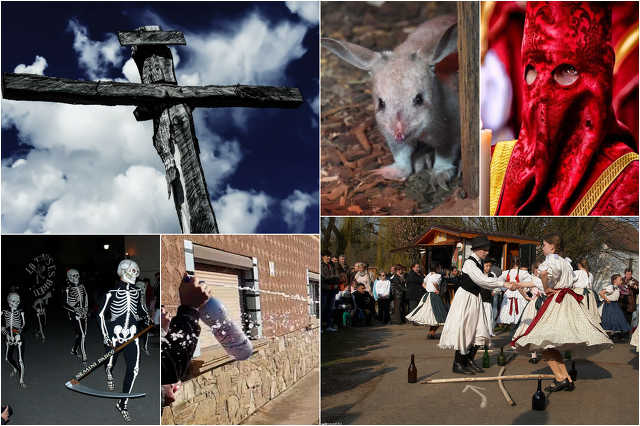 Húsvét a világ körül