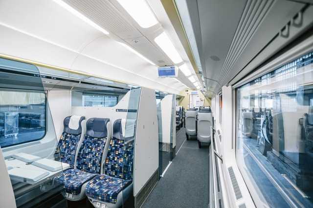 IC+ kocsi, vonat