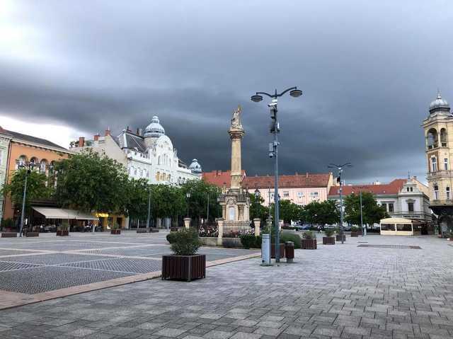 Érkezik Ausztria felől az eső