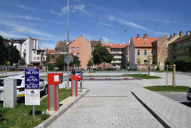 Az új Kőszegi utcai parkoló
