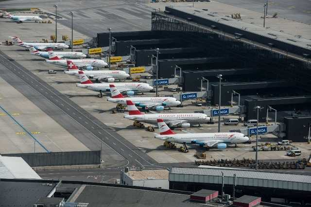 Az Austrian Airlines gépei