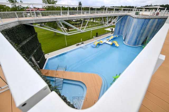Átadták az új Aquaticum Debrecen Strandot