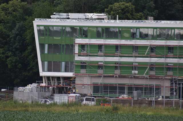Labdarúgó Illés Akadémia építkezés