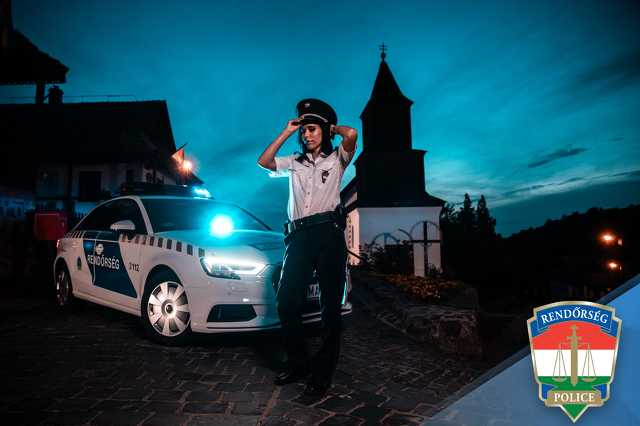 Nódrád megyei rendőrök