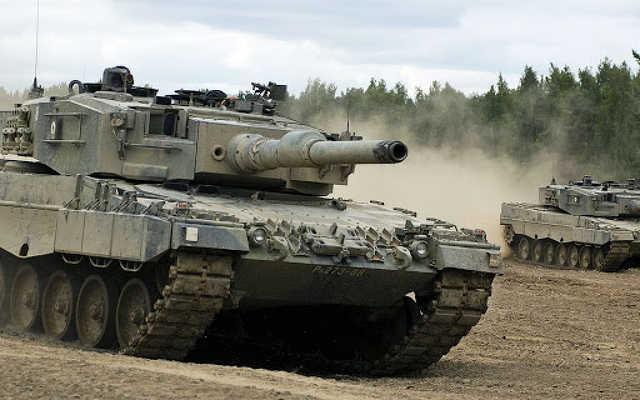 Leopárd harckocsi