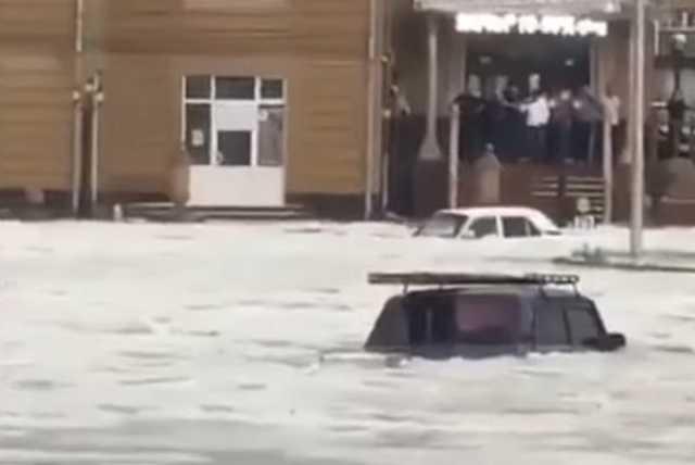 Jeges árvíz Örményországban
