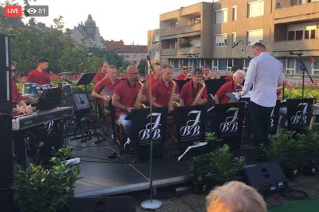 Isis Big Band live