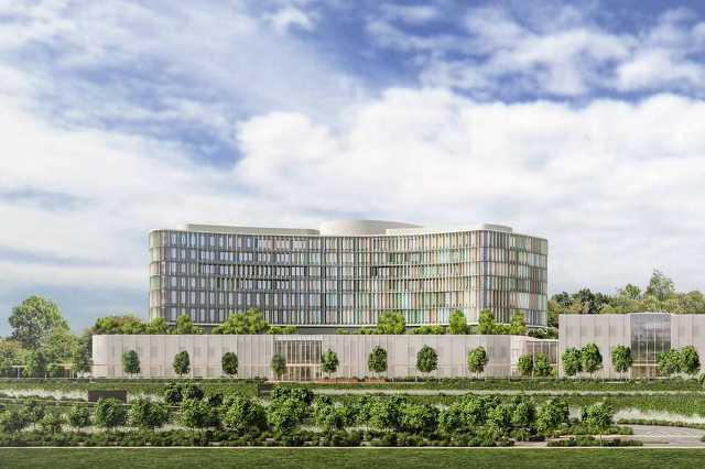 A Dél-budai szuperkórház terve