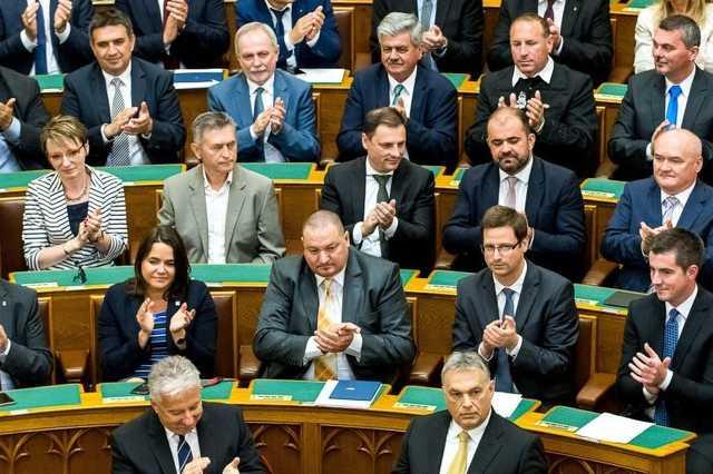 Fidesz frakció országgyűlés