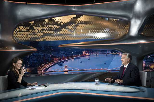Orbán Viktor interjúja a Hír TV-ben