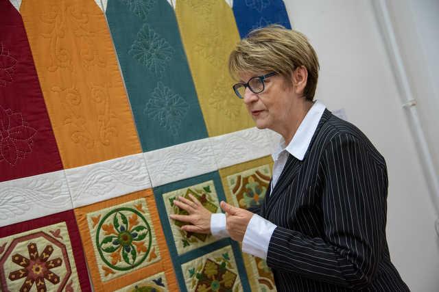 Szépműves Egylet kiállítászáró - patchwork a Herényiek Házában