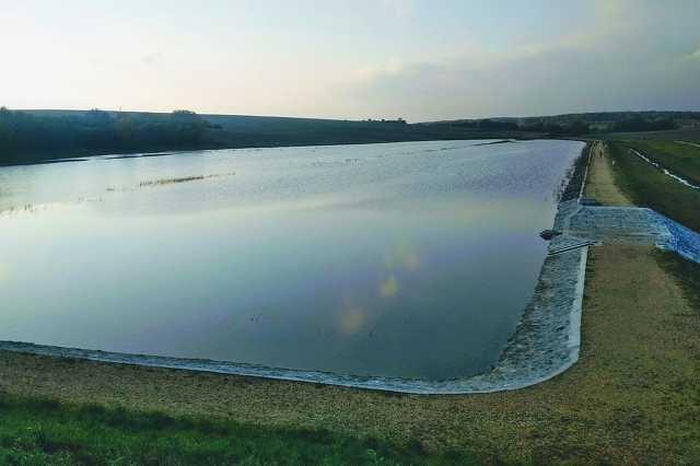 Dozmati víztározó - magas vízállás