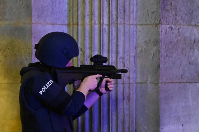 Terrortémadás Bécsben