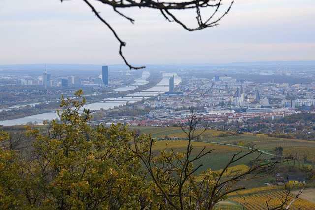Bécs, panorámakép