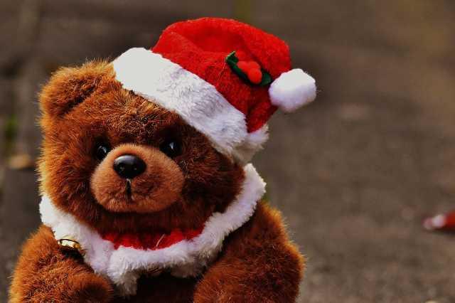 Karácsony, maci, mikulás, télapó