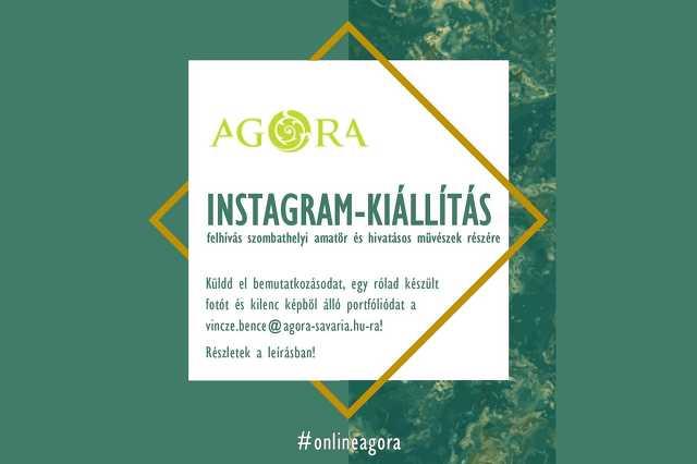 AGORA Instagram-kiállítás