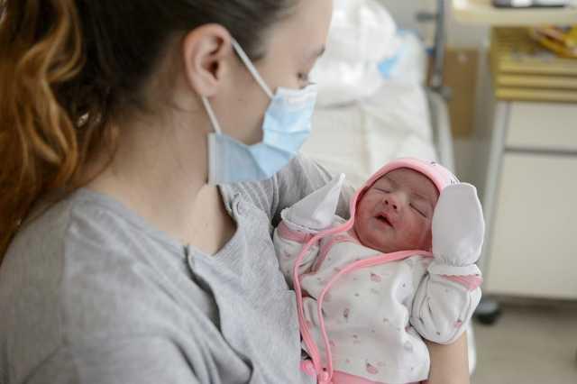 Újszülött baba - Boglárka