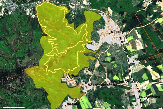 Vadászati területek a Kőszegi-hegységben