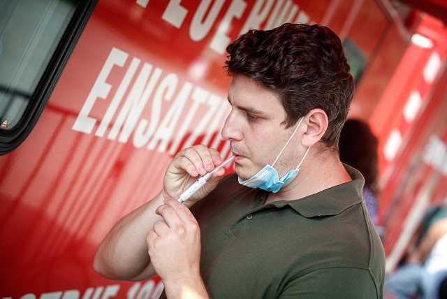 Koronavírus-teszt Bécsben