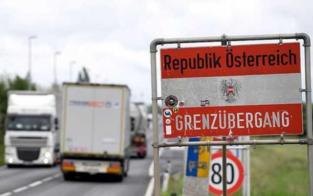 ingázók, határ, Ausztria