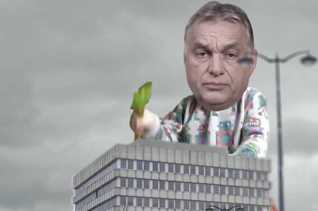 Orbán és a szombathelyi városháza