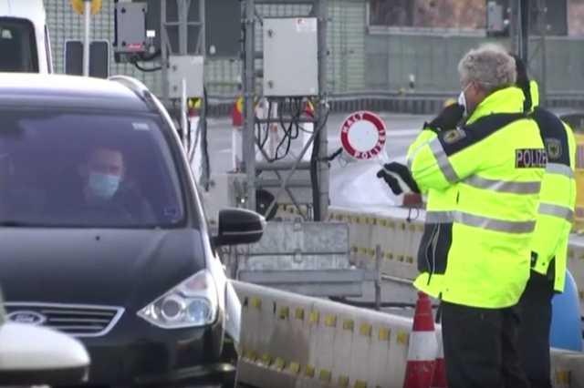 Ellenőrzés a német-cseh határon