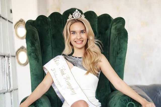 Döbrösi Melinda Friderika, a 2020-as Miss Tini Hungary