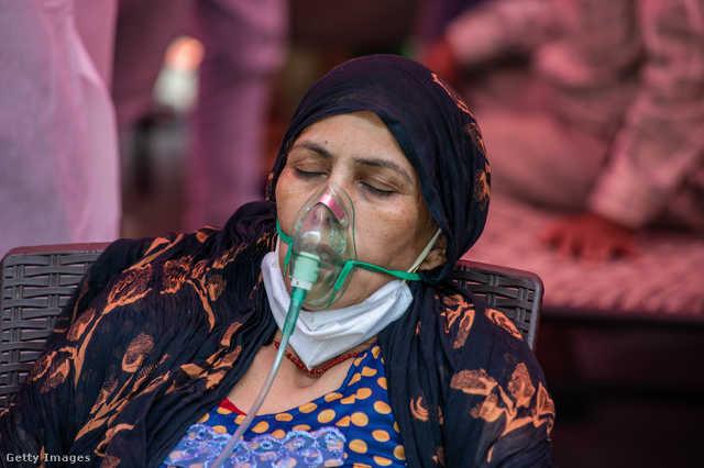Oxigénhez jutni Indiában
