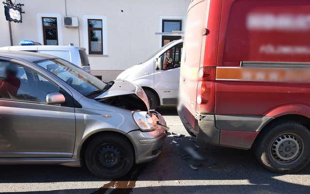 Volkswagennek ütközött a Toyota