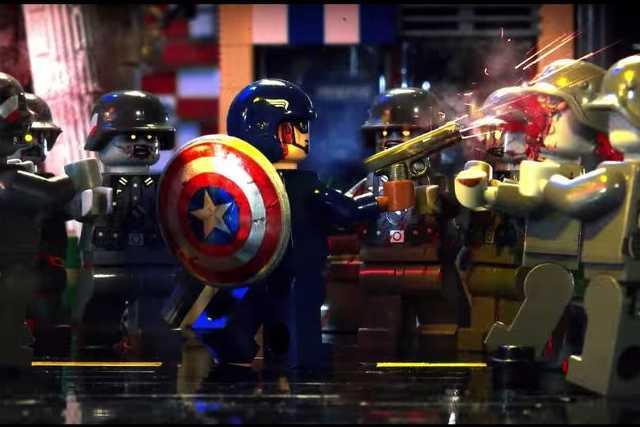 Lego Amerika kapitány és a náci zombik
